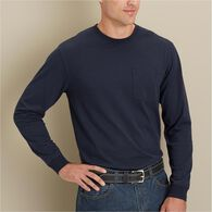 Men's Un-Longtail T Long Sleeve T-Shirt BLACK LRG