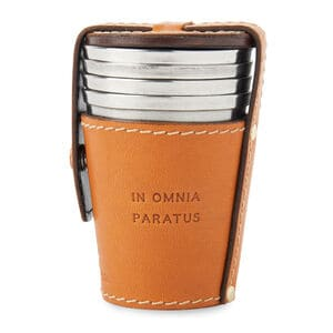 Best Made Shot Glasses with Leather