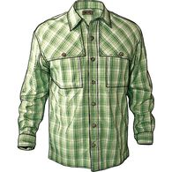 Men's No Fly Zone Long Sleeve Plaid Shirt SPGPLAD