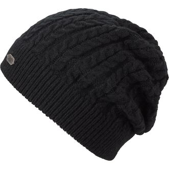 71883d7ebb1 Women s Gathered Slouch Beanie BLACK Women s Gathered Slouch Beanie BLACK  ...