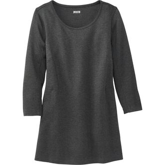 Women's Wearwithall Ponte Knit 3/4 Sleeve Tunic DG