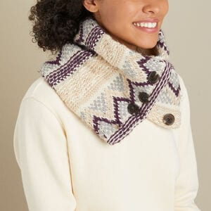 Women's Fair Isle Neck Warmer