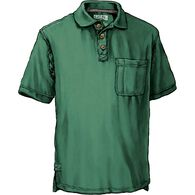 Men's No Polo Short Sleeve Shirt with Pocket MYRTG