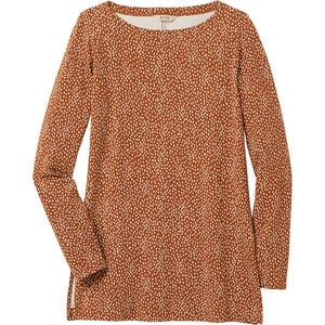 Women's Pima Cotton Willow Knit Long Sleeve Tunic