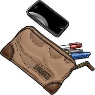 Fire Hose Smallest Parts Bag BROWN