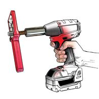Thread Wizard Bolt Cleaner  RED