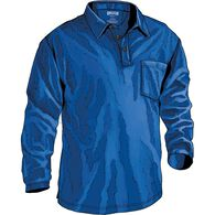 Men's Longtail T Long Sleeve Polo with Pocket COBA