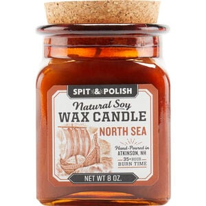Spit and Polish North Sea Candle