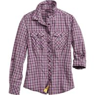 Women's Armachillo Cooling Button Up Shirt BLBRPLD