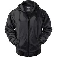 Men's Souped-Up Sweats SS Full Zip Hoodie BLACK ME