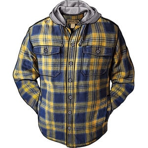 Men's Flapjack Relaxed Fit Hooded Shirt Jac