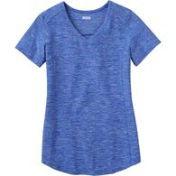 Women's Armachillo Short Sleeve V-Neck T-Shirt BLU