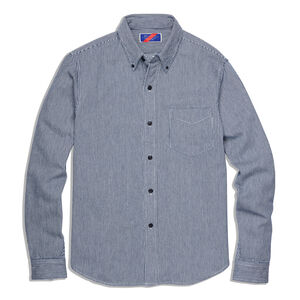Men's Best Made Hickory Stripe Standard Shirt