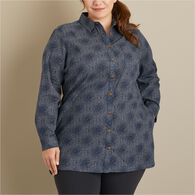Women's Plus Artisan Hemp Tunic FSHMLTS 2X