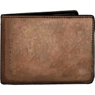 Working Man's Leather Bi-Fold Wallet BROWN