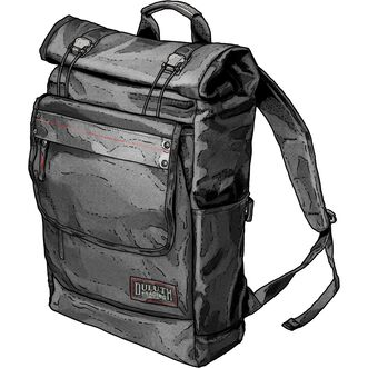 Cargobold Rolltop Backpack BLACK