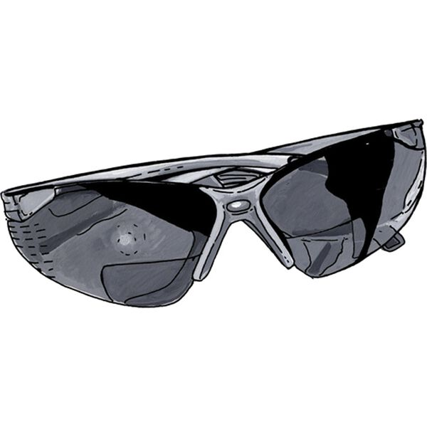 Wrap-style Cheater Sunglasses 1.50