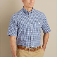 Men's Wrinklefighter Poplin Short Sleeve Shirt VNB