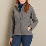 WM Shoreline Shield Hooded Jacket GRAY XSM