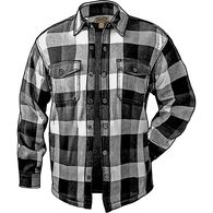 Men's Flapjack Fleece-lined Shirt Jac BLKMCHK SM R