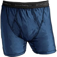 Men's Buck Naked Performance Boxer Briefs DRKCOB M