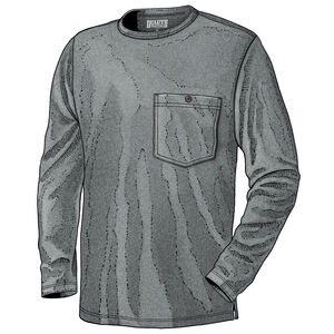 Men's Tri-Brid Long Sleeve Crew with Pocket