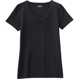 Women's No-Yank Short Sleeve V-Neck T-Shirt