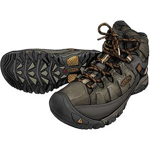 Men's KEEN Targhee III Mid Leather Waterproof Boots