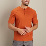 Men's AKHG Wildwick Standard Fit Henley