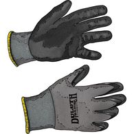 Men's 3-Pack Handiwork Nitrile Gloves BLACK MED