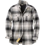 Women's Free Swingin' Lined Flannel Shirt Jac PTYO
