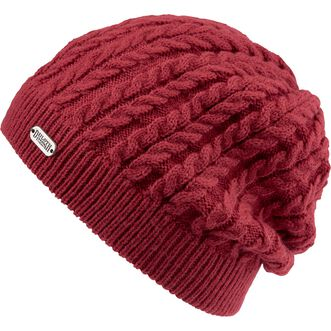 Women's Gathered Slouch Beanie RED
