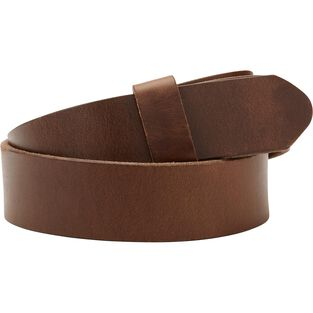 4c016766c ... Women s Leather Flat Front Belt ...