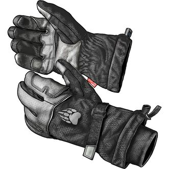 Men's Alaskan Hardgear Innoko 2-in-1 Winter Gloves