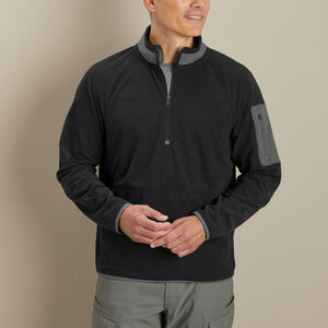 Men's True Grid Fleece 1/4 Zip Mock