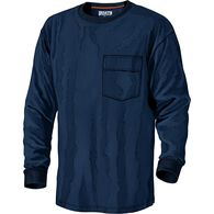 Men's Spillfighter Long Sleeve Crew with Pocket NA