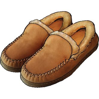 Men's Shearling Sheepskin Slippers