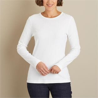 Women's Longtail T Long Sleeve Crew Neck T-Shirt
