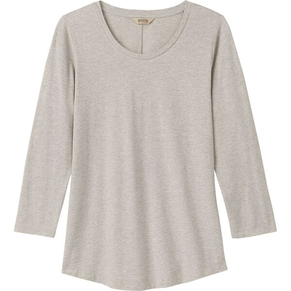 Women's Pima Cotton Willow Knit 3/4 Sleeve Shirt