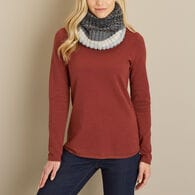 Women's BUFF Alina Knitted and Fleece Neckwarmer