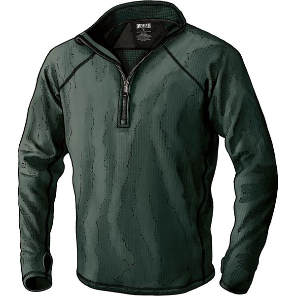 Men's 3 Dog Fleece 1/4 Zip Base Layer Shirt