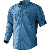 Men's CoolPlus Action Long Sleeve Shirt NEPTUNE BL