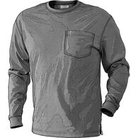 Men's Un-Longtail T Long Sleeve T-Shirt GRAYHEA 3X