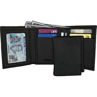 Men's Everyday Trifold Wallet BLACK