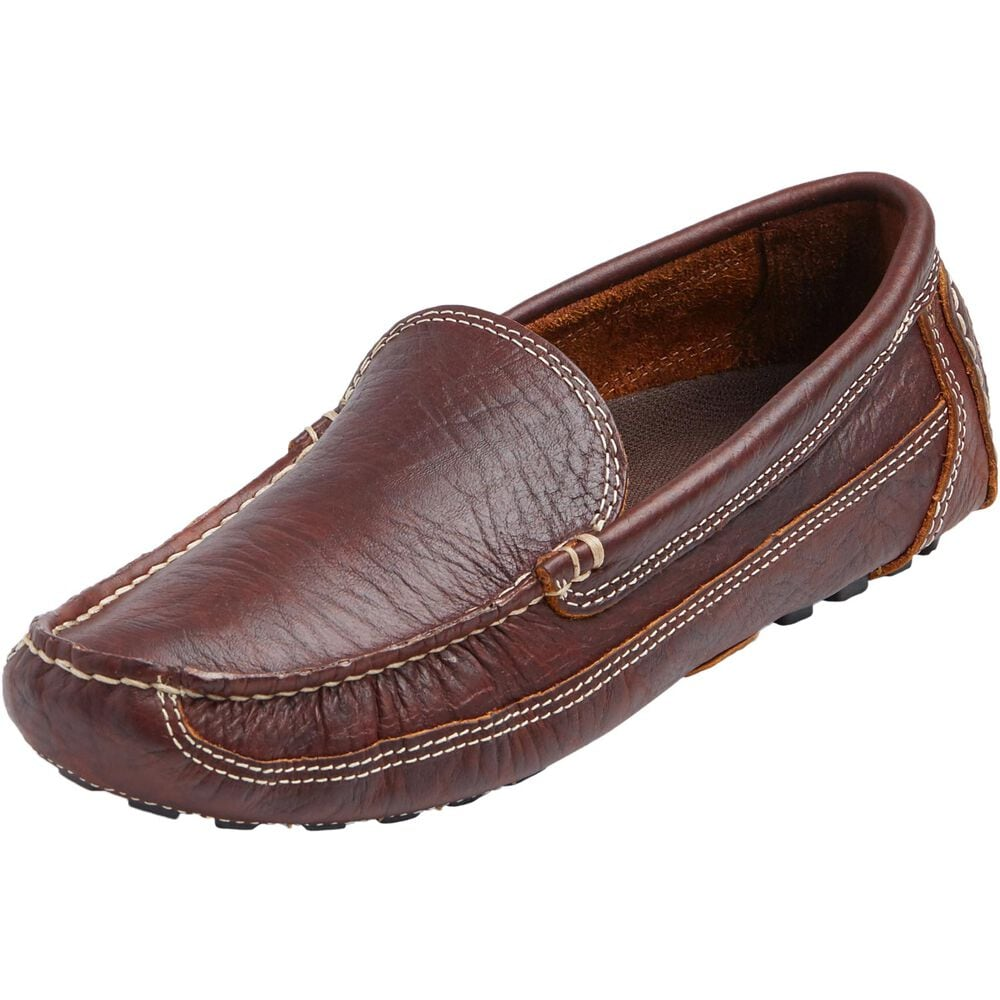 9da0ae2ed2dad Men's Bison Leather Driving Moccasins | Duluth Trading Company