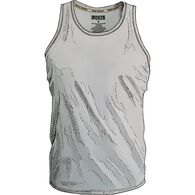 Men's Free Range Cotton Tank Undershirt PEWTER SM