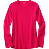 Women's Longtail T Long Sleeve Crew Neck T-Shirt D