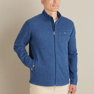Men's Silver Lining Fleece Full Zip Mock