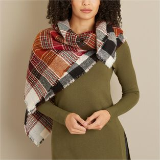 1c290e7d23068 Women's Reversible Plaid Scarf | Duluth Trading Company