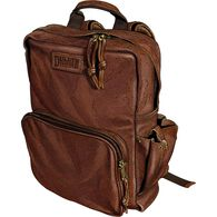 Leather Backpack BROWN